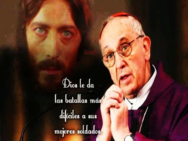 Dios anima a los católicos