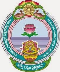 Acharya Nagarjuna University Results 2015