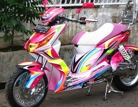 50+ Modifikasi Motor Matic 2014