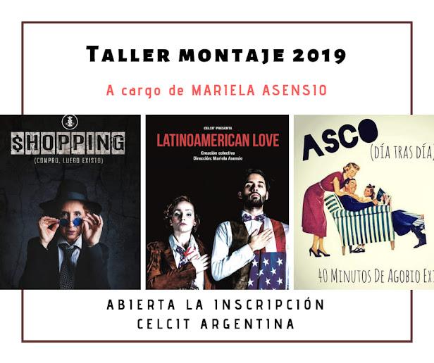 #Formación  #Entrenamiento / Taller Montaje / Julio a noviembre 2019