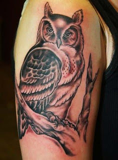 Owl Tattoos, Tattooing