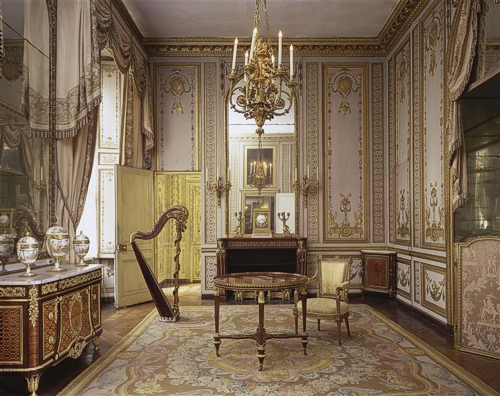Tatiana 39 s tea room versailles marie antoinette 39 s private for Chambre public affairs