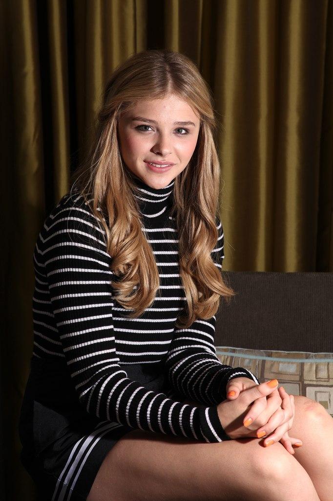 Chloe Moretz, fotos de promocion de Carrie