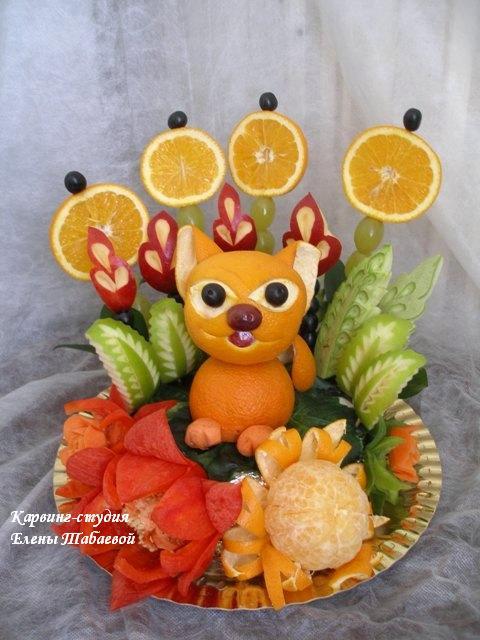 фруктовые фигурки для детей на заказ в Южно-Сахалинске