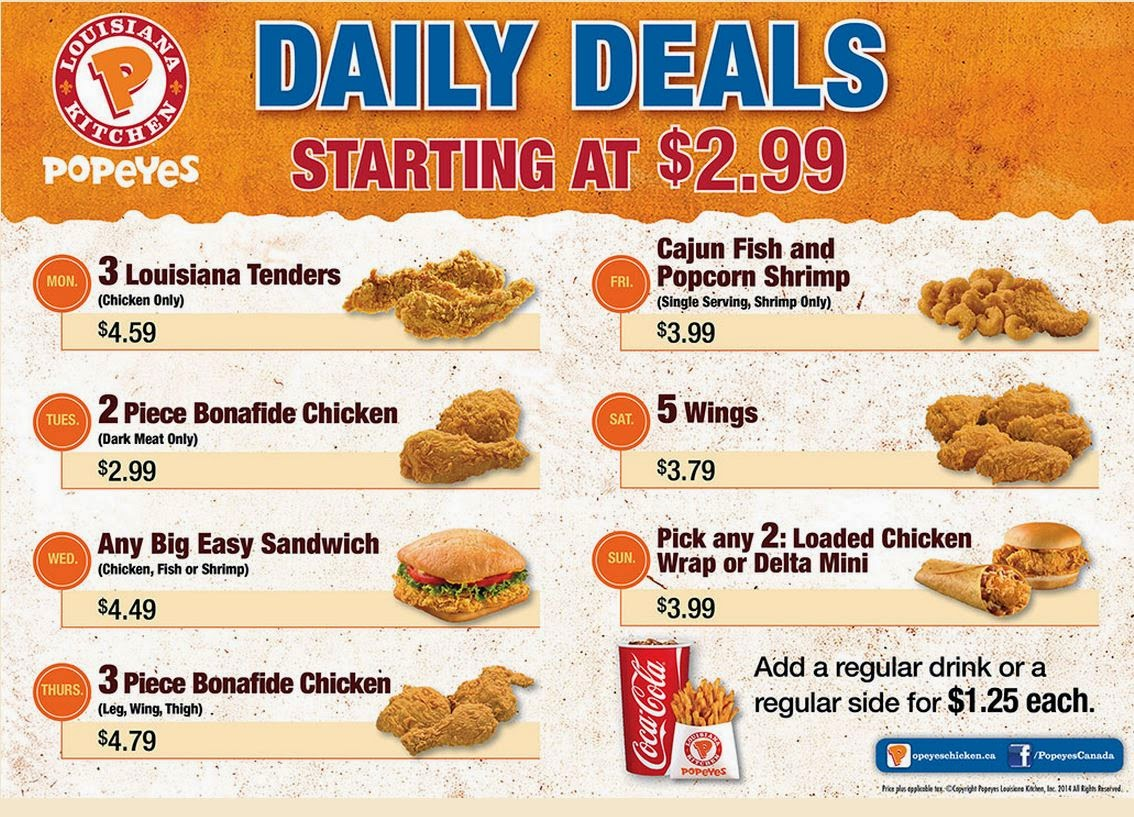 About Popeyes. When you're hungry for good deals, make sure Popeyes coupon codes are on the menu. Tuck into marinated Bonafide fried chicken, po' boy sandwiches and buttermilk biscuits/5(38).