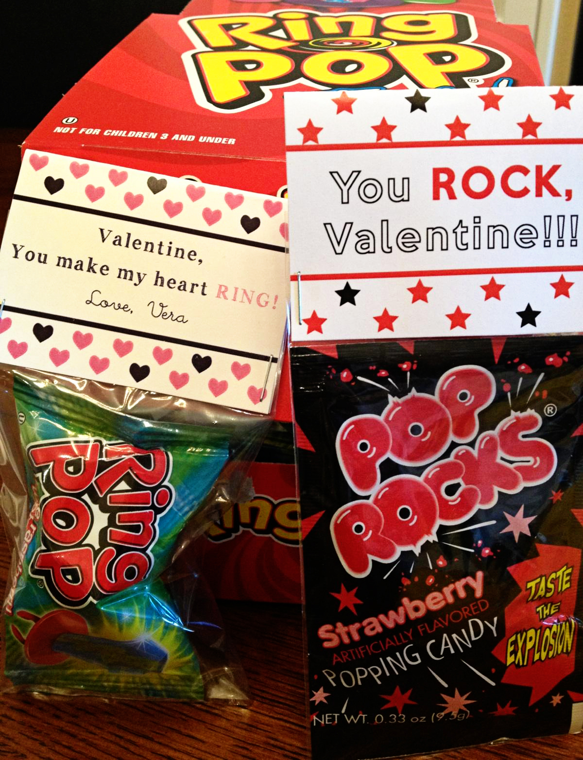 This is a picture of Striking Pop Rocks Valentines Printable