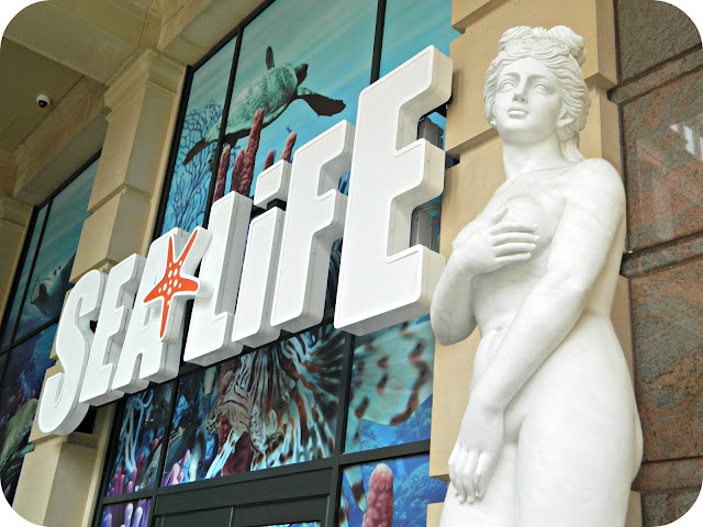 Entrance to the SEA LIFE Centre Manchester