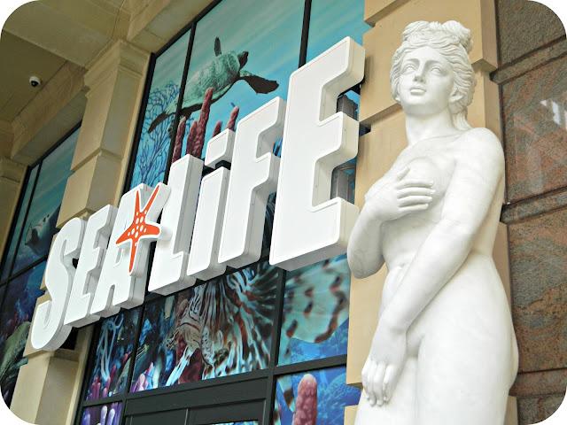 Entrance to the SEA LIFE Centre Manchester