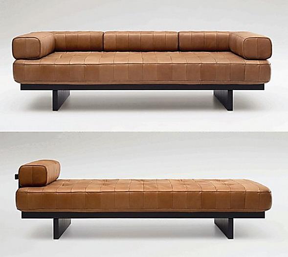 70 Moderne Innovative Luxus Interieur Ideen Fürs Wohnzimmer: SOFA CAPITONE REVESTIDO EM COURO BRANCO EMPORIO