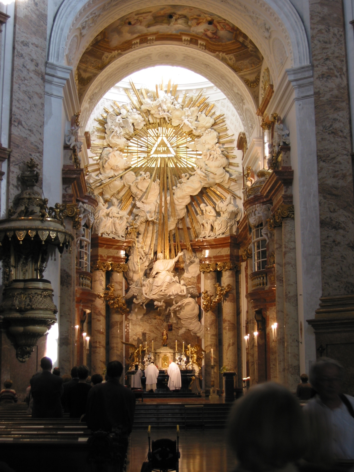 Displaying 19 Images For Baroque Architecture Interior Church
