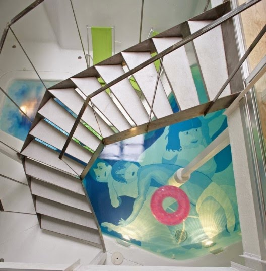 metal stairs designs by Miguel de Guzman