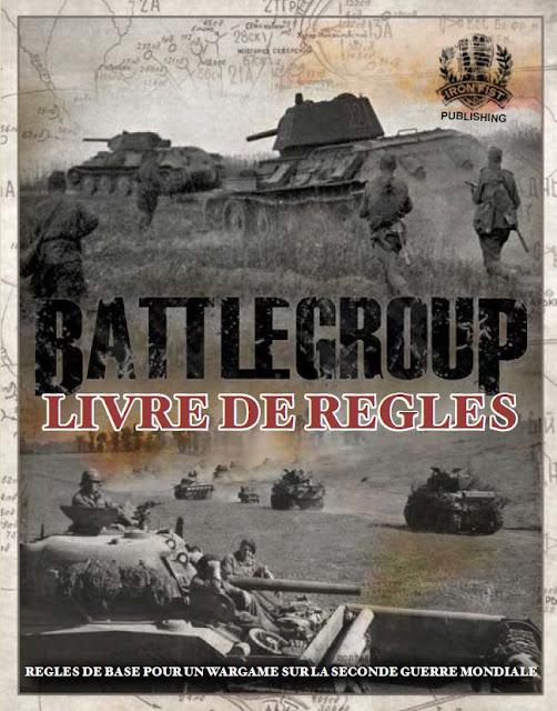 Livre de règles en Français de Battlegroup Kursk