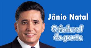 Acesse o site de JÂNIO NATAL - O FEDERAL DO EXTREMO SUL DA BAHIA!