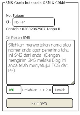 Tips Cara SMS Gratis Online - Tips SMS Gratis Indonesia