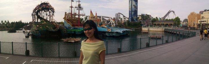 Osaka Universal Studios Japan Peter Pan Stage