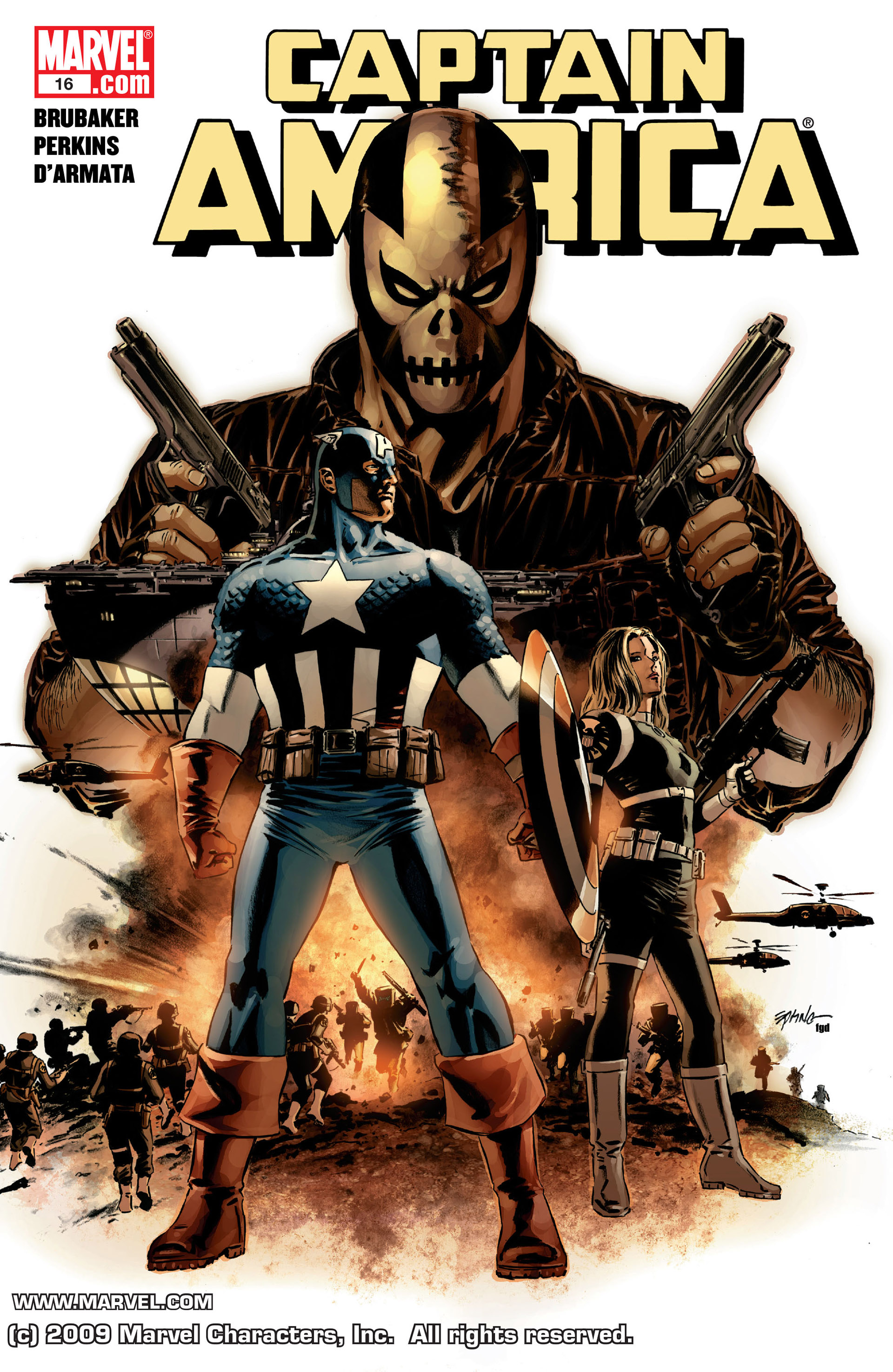 Captain America (2005) Issue #16 #16 - English 1