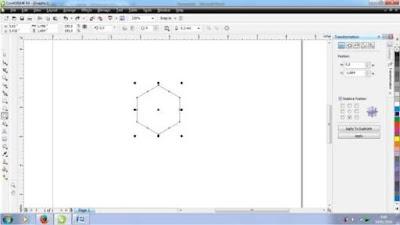 Cara Membuat Abstrak Bercak di Corel Draw