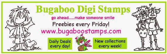 I Love Bugaboo Stamps