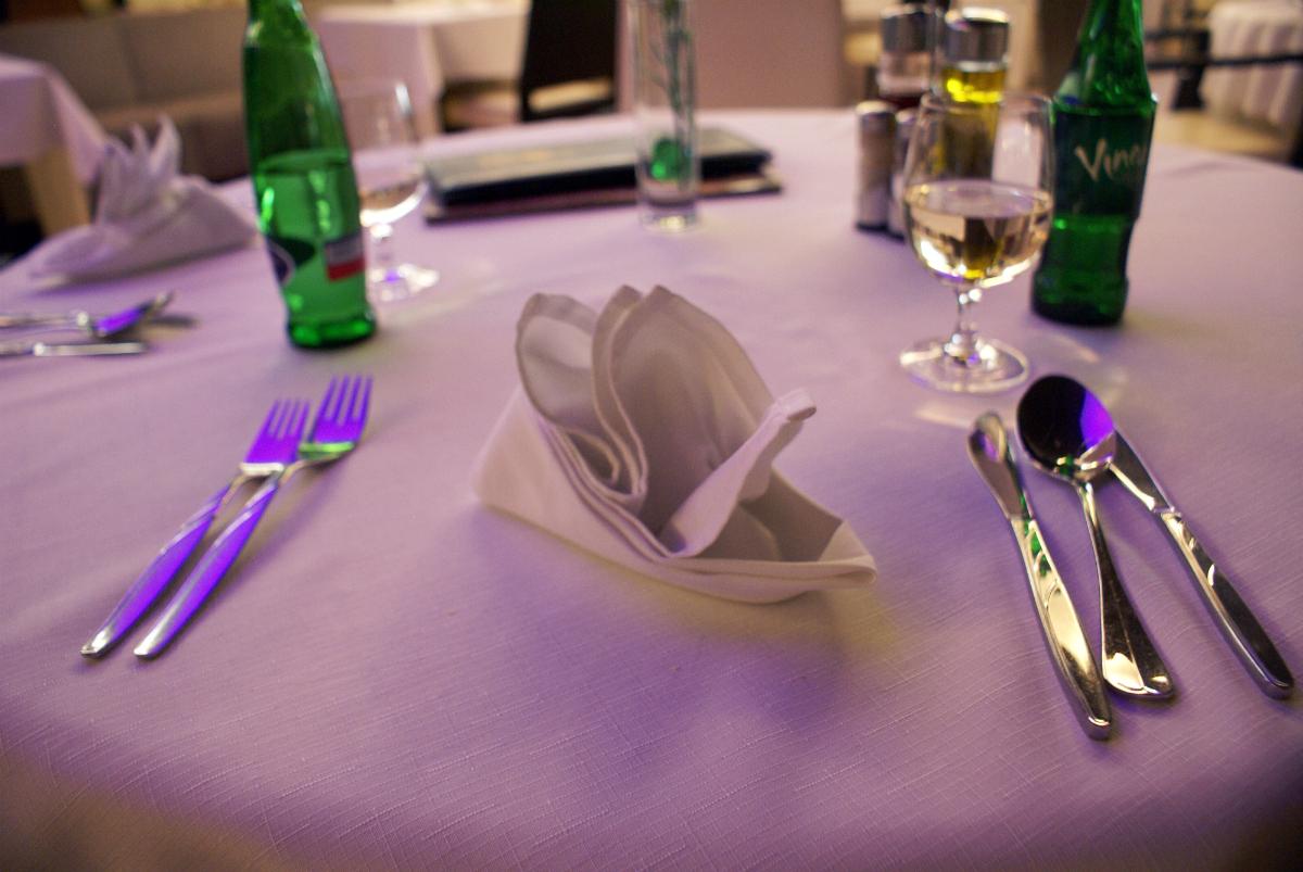 Prestieranie - reštaurácia Iris - hotel Zlatý Dukát