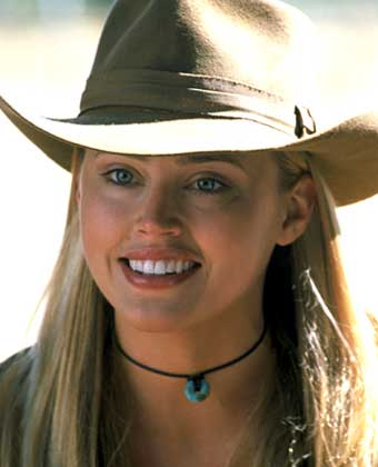 """Estella Warren cono Jessie en la película """"Caguro Jack"""""""