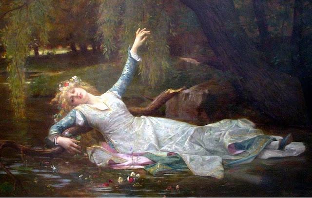 Ophelia,alexandre cabanel, art history