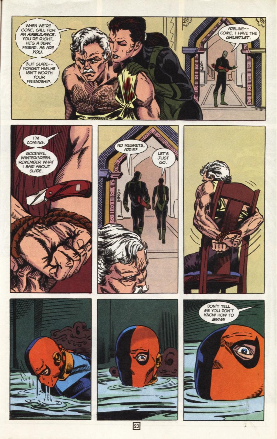 Deathstroke (1991) Issue #31 #36 - English 24