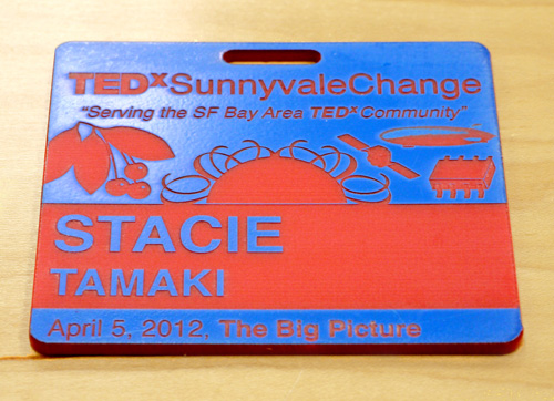 TEDxChange Name Badge