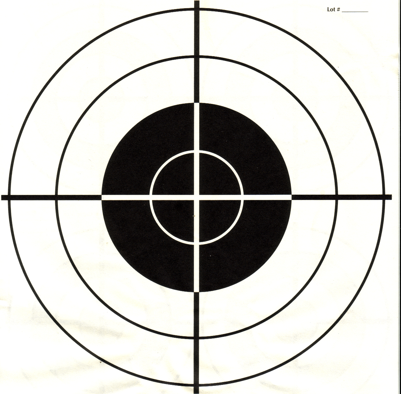 It is a graphic of Delicate Printable Pistol Targets