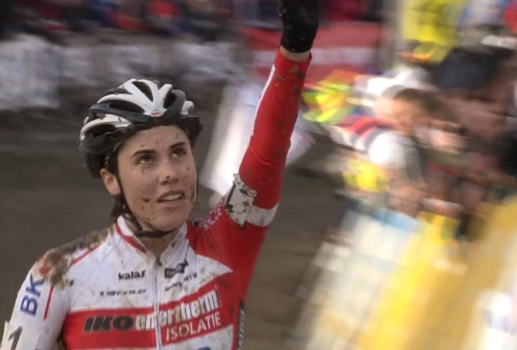 Sanne Cant championne de Belgique 2015