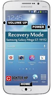 Cara Masuk Recovery Mode Samsung Galaxy Mega GT-19152