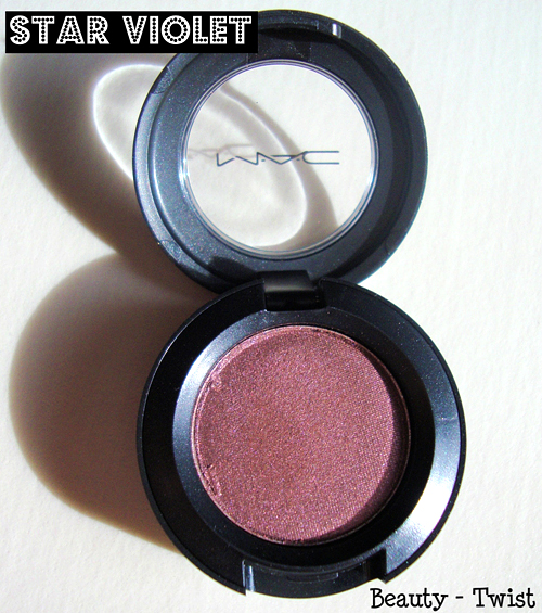 mac star violet eyeshadow