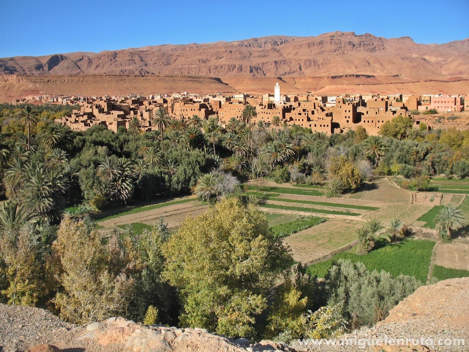 Tinerhir-en-Marruecos