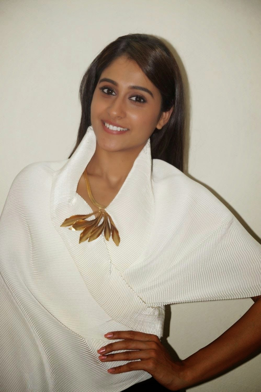 Actress Regina Cassandra Latest Cute Hot White Top Dress Spicy Photos Gallery