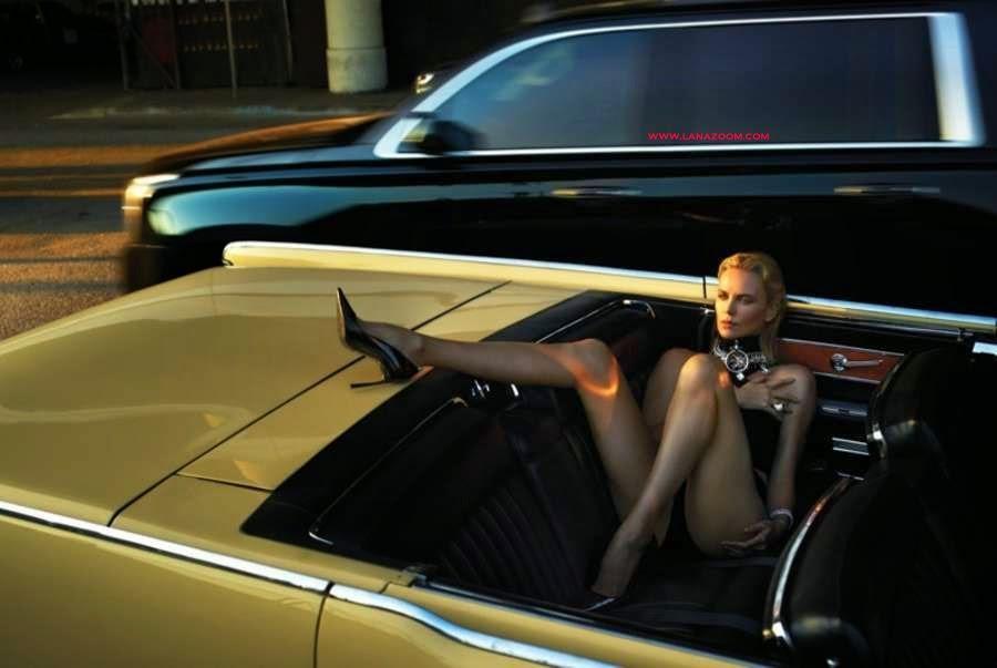 تشارليز ثيرون في جلسة تصوير جريئة لمجلة W مايو 2015