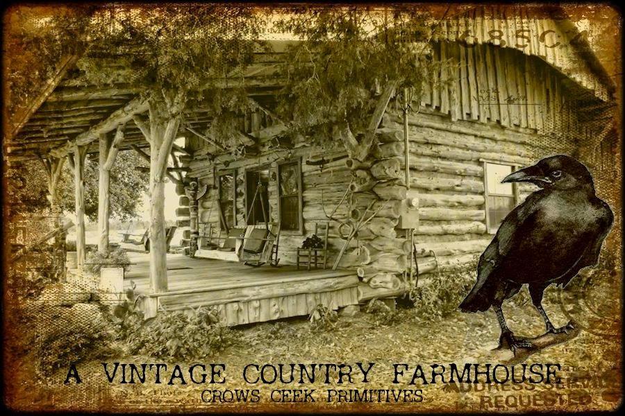 A Vintage Country Farmhouse