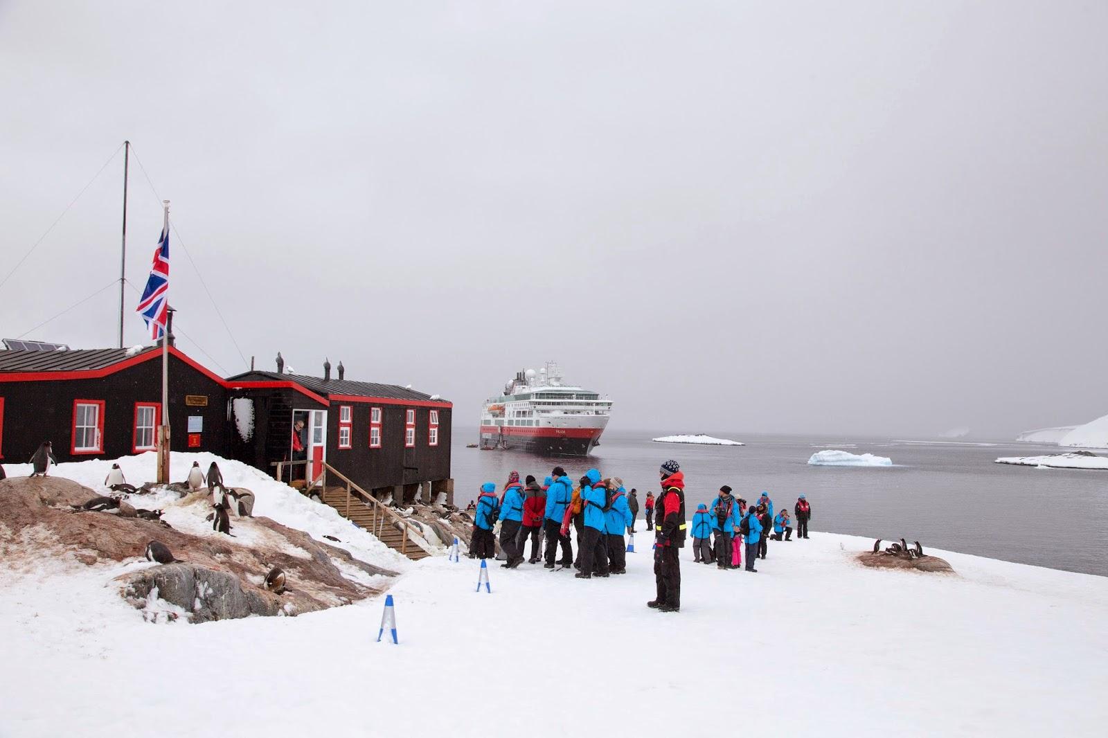 Mv fram expedition blog port lockroy and heading home for Port lockroy