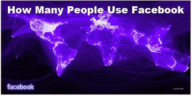 How Many People Use Facebook worldwide  image photo