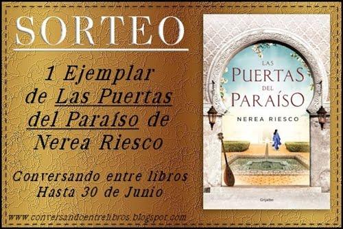 """¡Sorteo """"Las Puertas del Paraíso"""", Nerea Riesco"""""""
