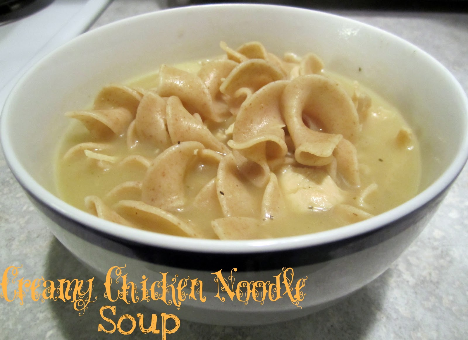 Creamy Chicken Noodle Soup - Whats Cooking Love?