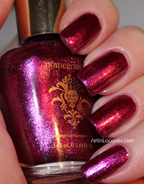 Pomegranate Nail Lacquer - Fairy Berry