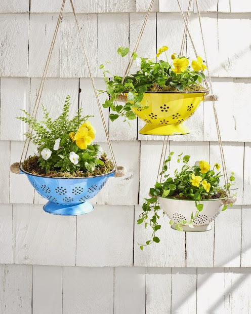 Home Made Modern: Hanging Planters