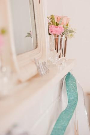Pink White Shabby Chic Wedding Style