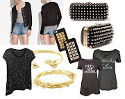 . AllSaints blouse and finally in the center Jagger Edge's I phone cases.