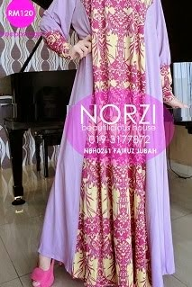 NBH0261 FAIRUZ JUBAH (MATERNITY & NURSING FRIENDLY)