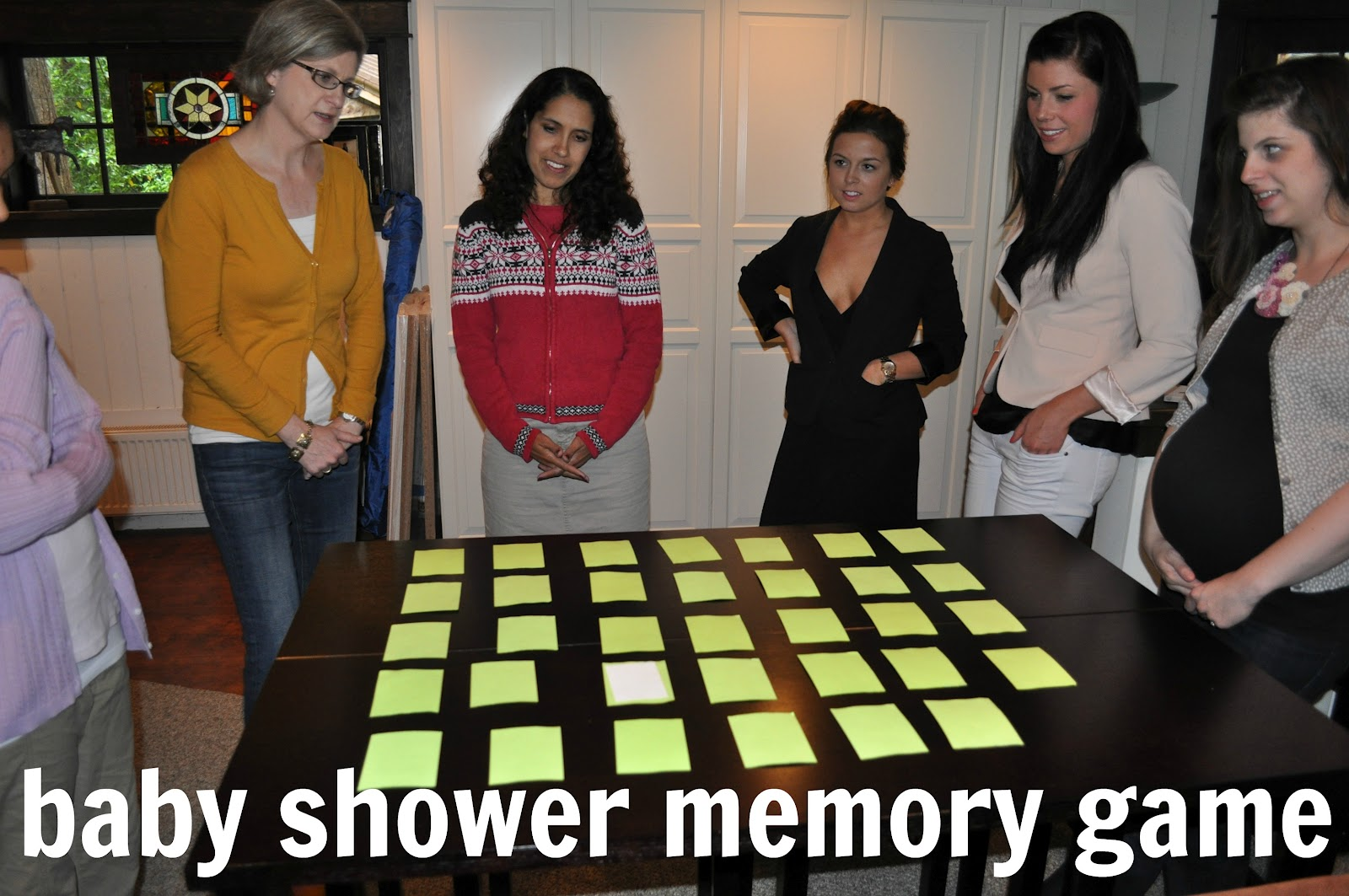 baby shower memory game that mama gretchen