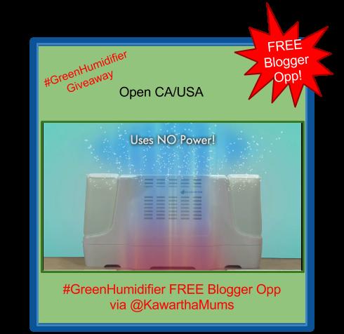 image Free #GreenHumidifier Blogger Opp via @KawarthaMums