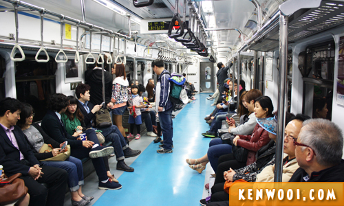 seoul subway train