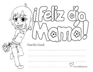 Dibujos para el Dia de la Madre