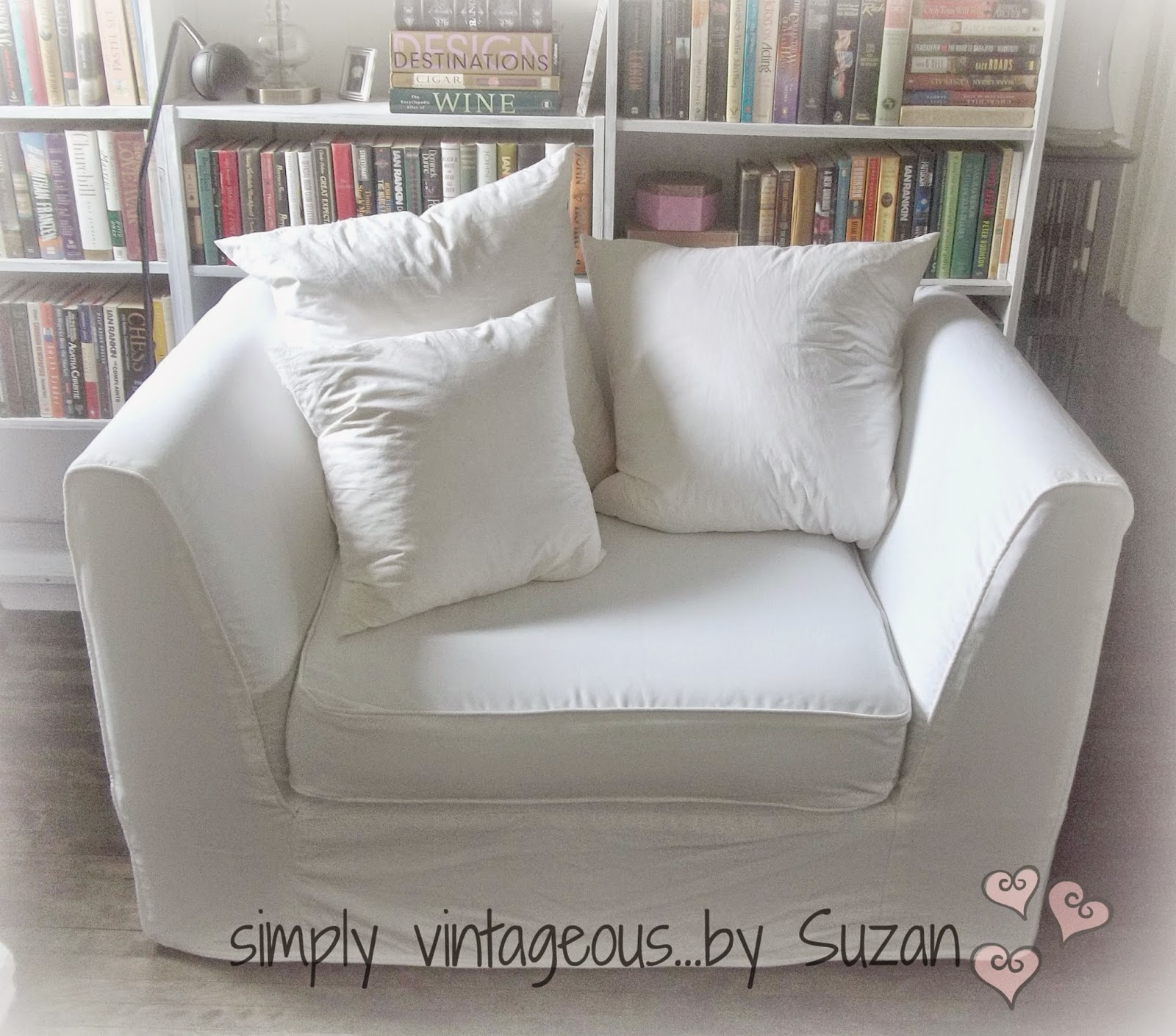 white chair in living room