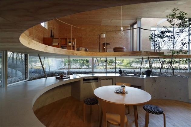 Holzhaus in Okoyama; Foto: Koji Fujii